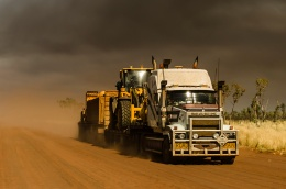 highly commended tanami road train