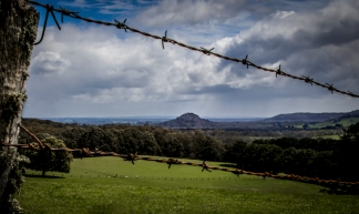 vista of hanging rock